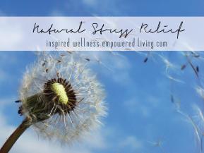 Natural Living | StressRelief
